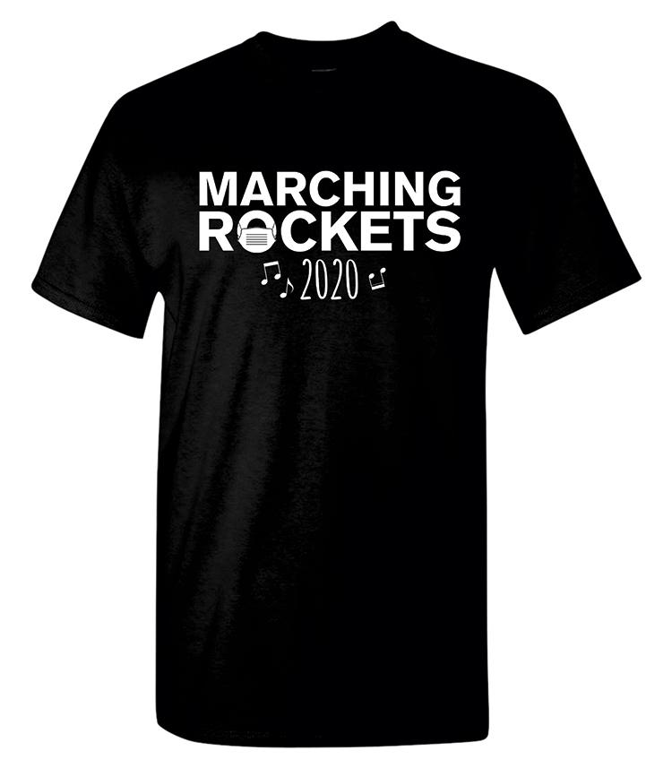 Rock Falls Marching Coronavirus T-Shirt