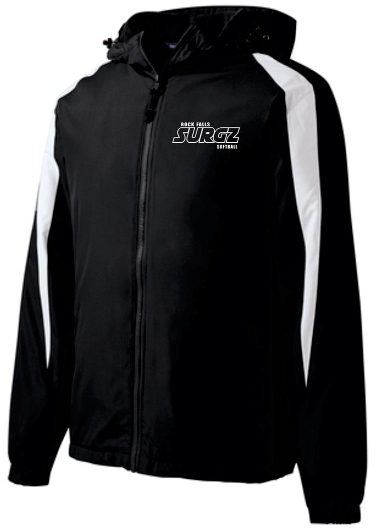 Rock Falls Fleece-Lined Colorblock Jacket