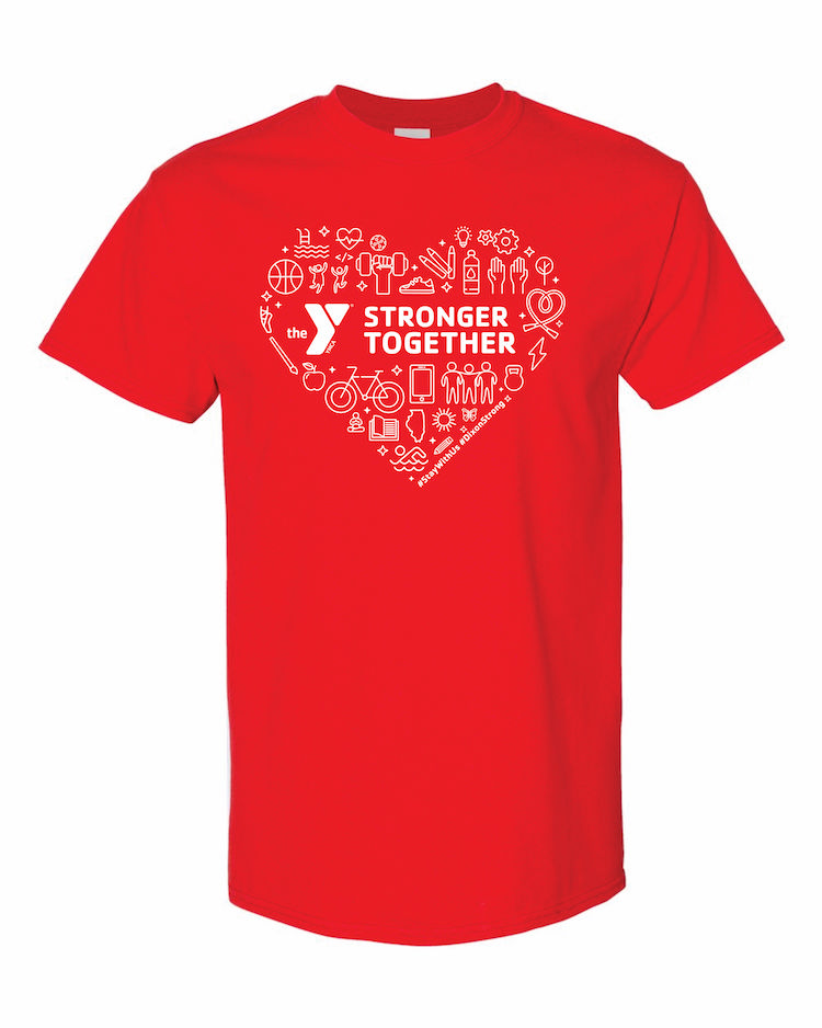 YMCA Stronger Together T-Shirt