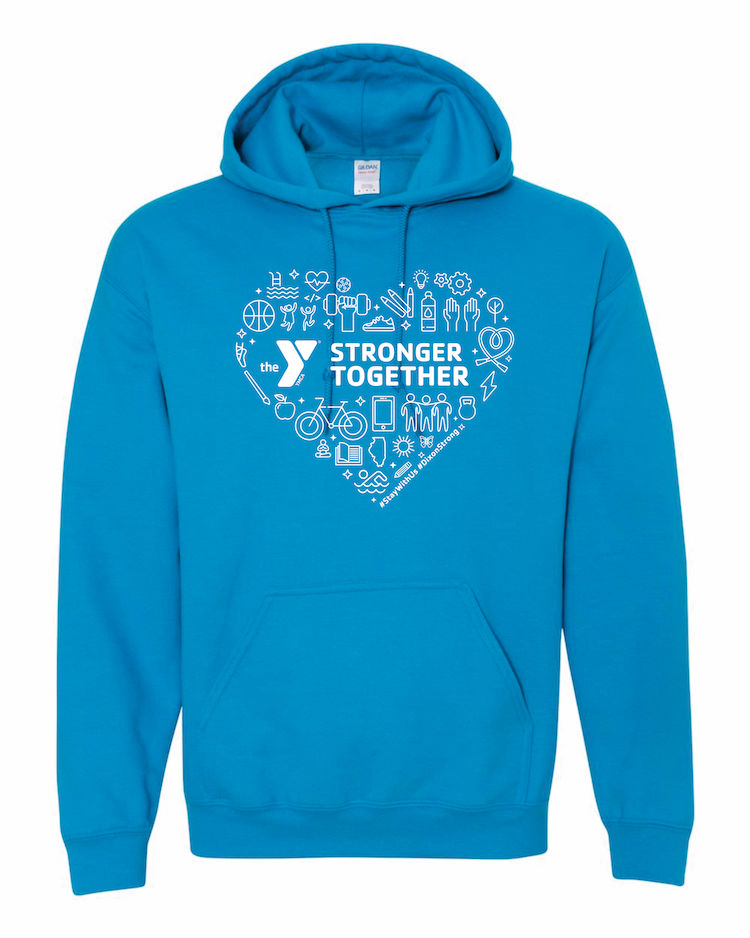 YMCA Stronger Together Hoodie