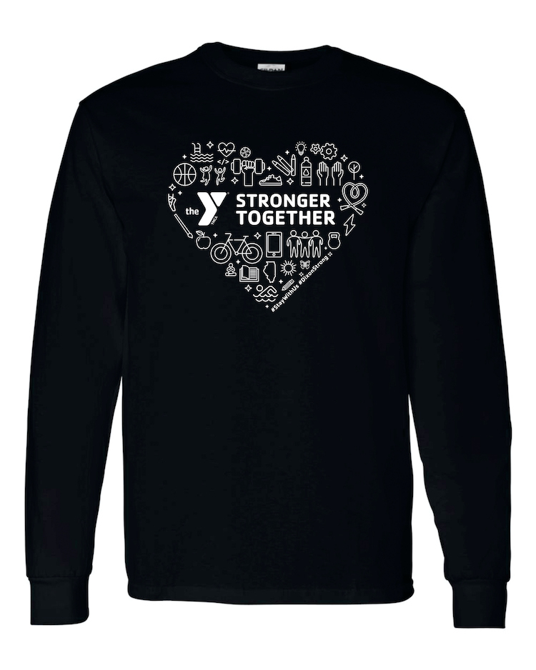 YMCA Stronger Together LS T-Shirt