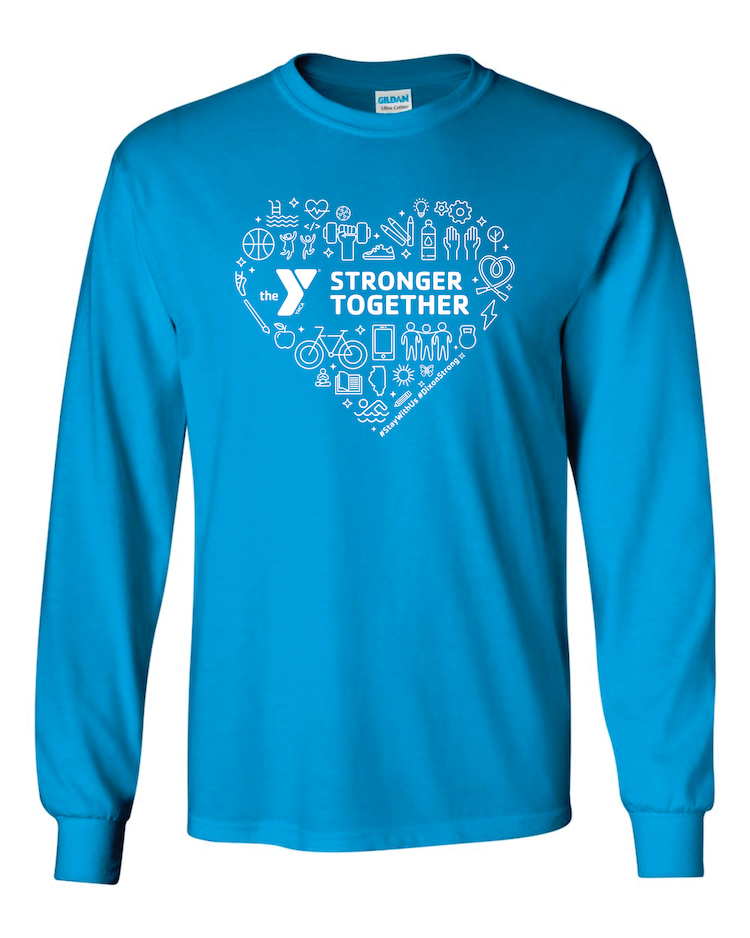 YMCA Stronger Together LS T-Shirt