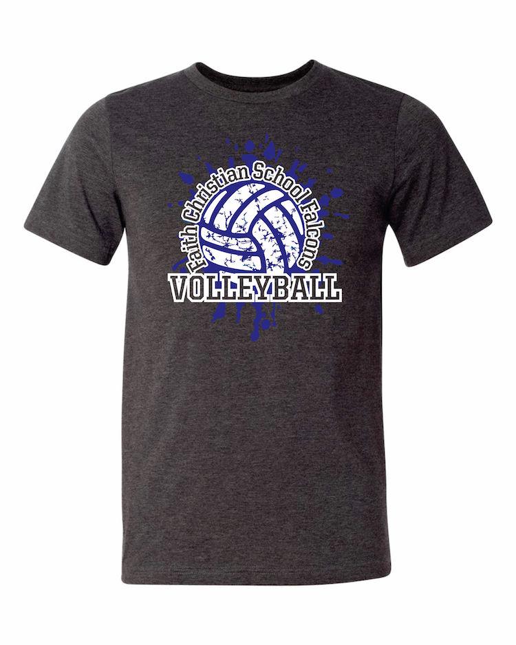 Faith Christian Volleyball T-Shirt