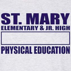 St Mary Gym Uniform