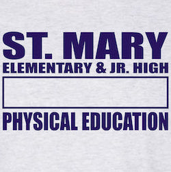 St Mary Gym Uniform