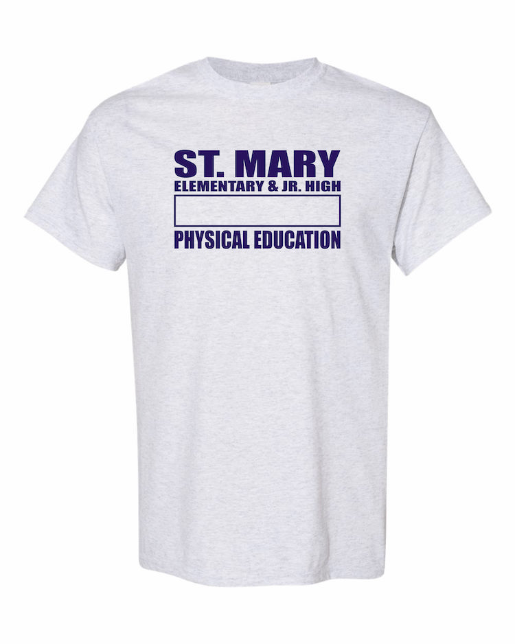 St Mary Gym T-Shirt