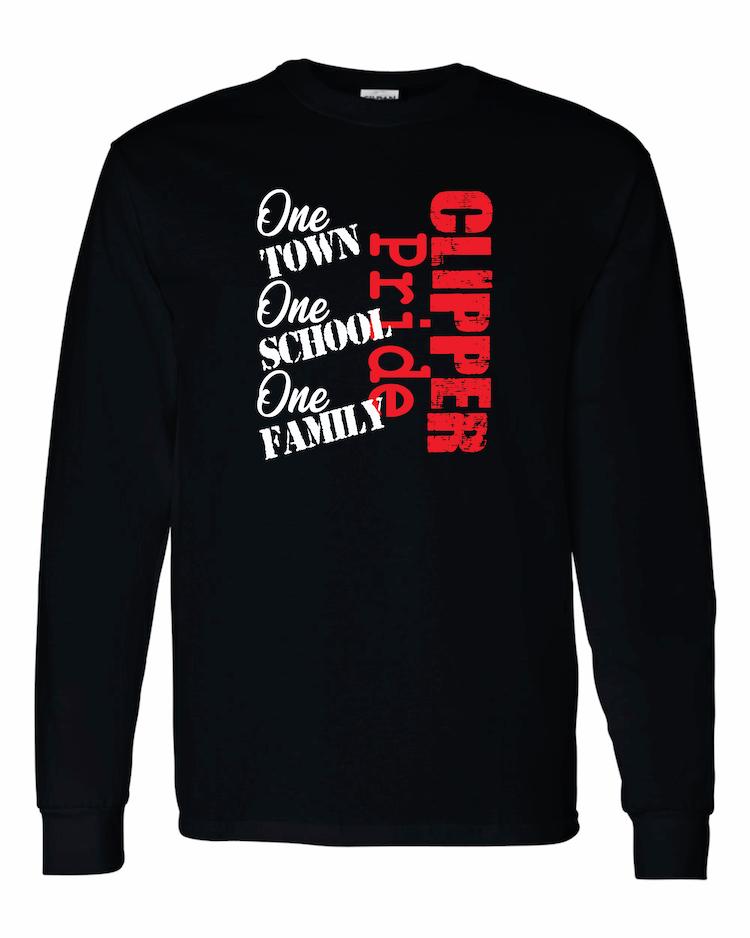 Amboy Clipper Pride One Town LS T-Shirt