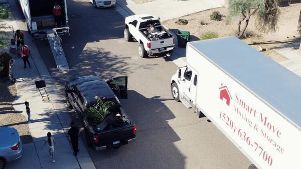smart move tucson az unload
