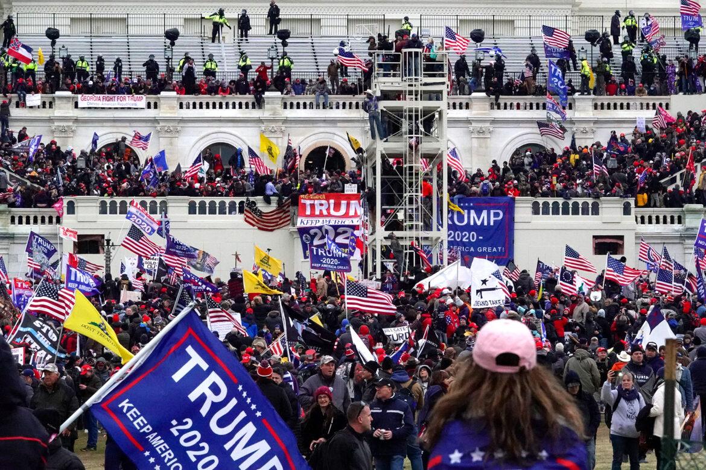 Capitol Hill Riot; A Super Spreader Event