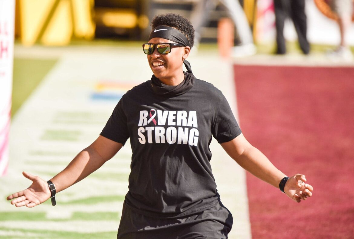 The NFL's Very First Black Female Coach