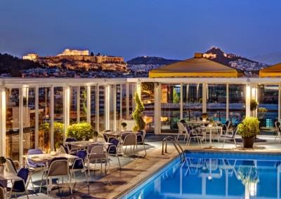 Athens Ledra Marriott  Rooftop