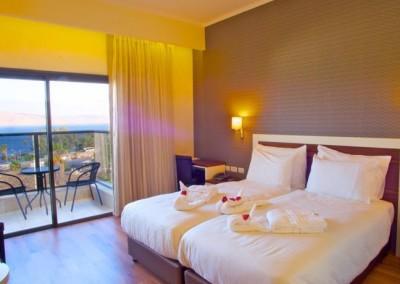 Emily's Hotel room-Tiberias