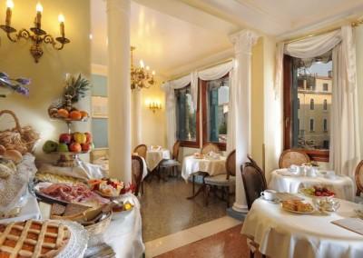 Hotel Arlecchino breakfast -Venice