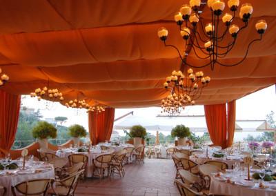 Hotel Vesuvio restaurant-Sorrento