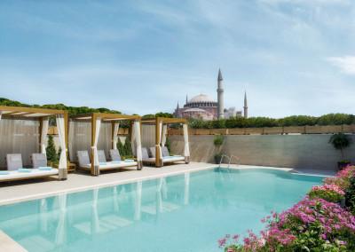 Sura Hagia Sophia Hotel pool