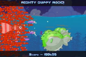 Drop the Mighty Guppy bomb