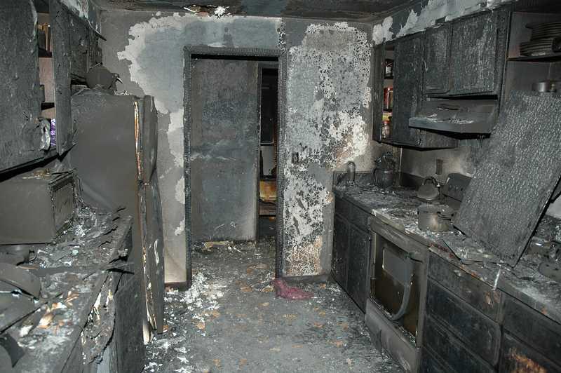 fire claim damage