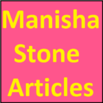 Manisha Stone Articles