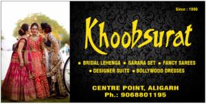 Khoobsurat - Garara Sets, Bridal Sarees, Bollywood Dresses, etc Aligarh Centre Point