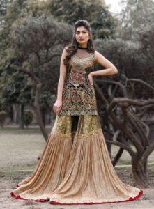 good appeal Bridal wedding Garara set Aligarh