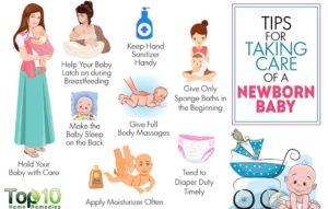tips to take care new born baby blogging niche make money