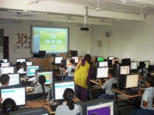 Computer Lab, Smart Study Program in Aligarh School