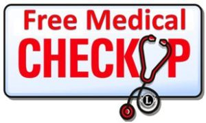 Regular Free Medical Check Up