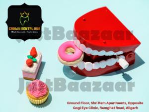 Crown Dental Hub Ground Floor, Shri Ram Apartments, Opposite Gogi Eye Clinic, Ramghat Road, Aligarh