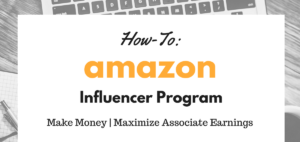 HOW TO BECOME AN AMAZON INFLUENCER? Program Ear Money ONline