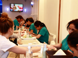 Sapphire Nails and Spa Salon in New York
