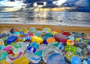 Colorful Translucent Sea Stones Photos Pictures Free Download