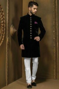 Designer Sherwani for Dulha Groom Prices Designs Indo Western Sherwani