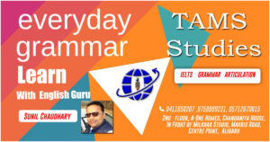Start Learning English Today Only Join TAMS Studies Aligarh