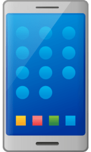 premium phone png mobile image vector free download blue theme