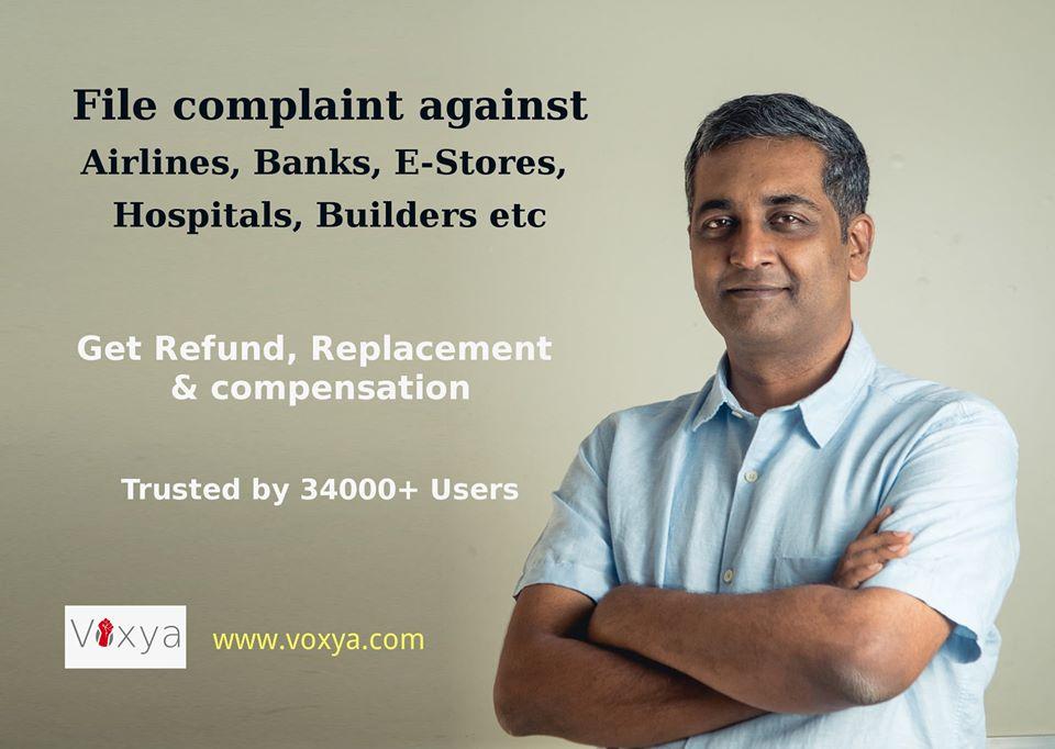 Voxya Bangalore Consumer Forum Online