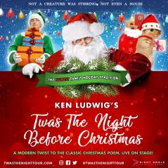 Twas the Night Before Christmas musical logo