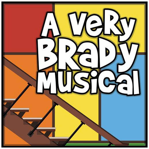 A Very Brady Musical logo