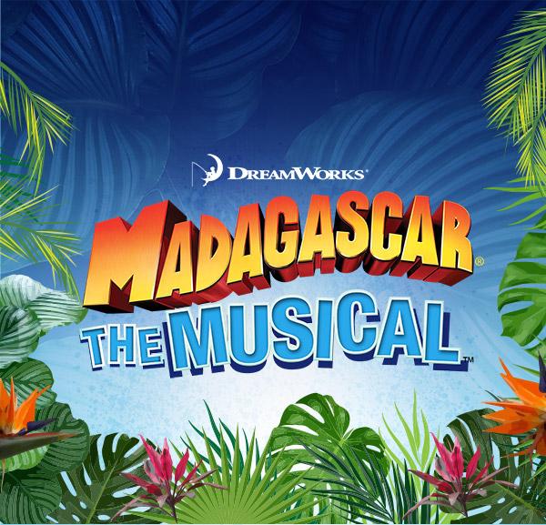 Madagascar The Musical logo