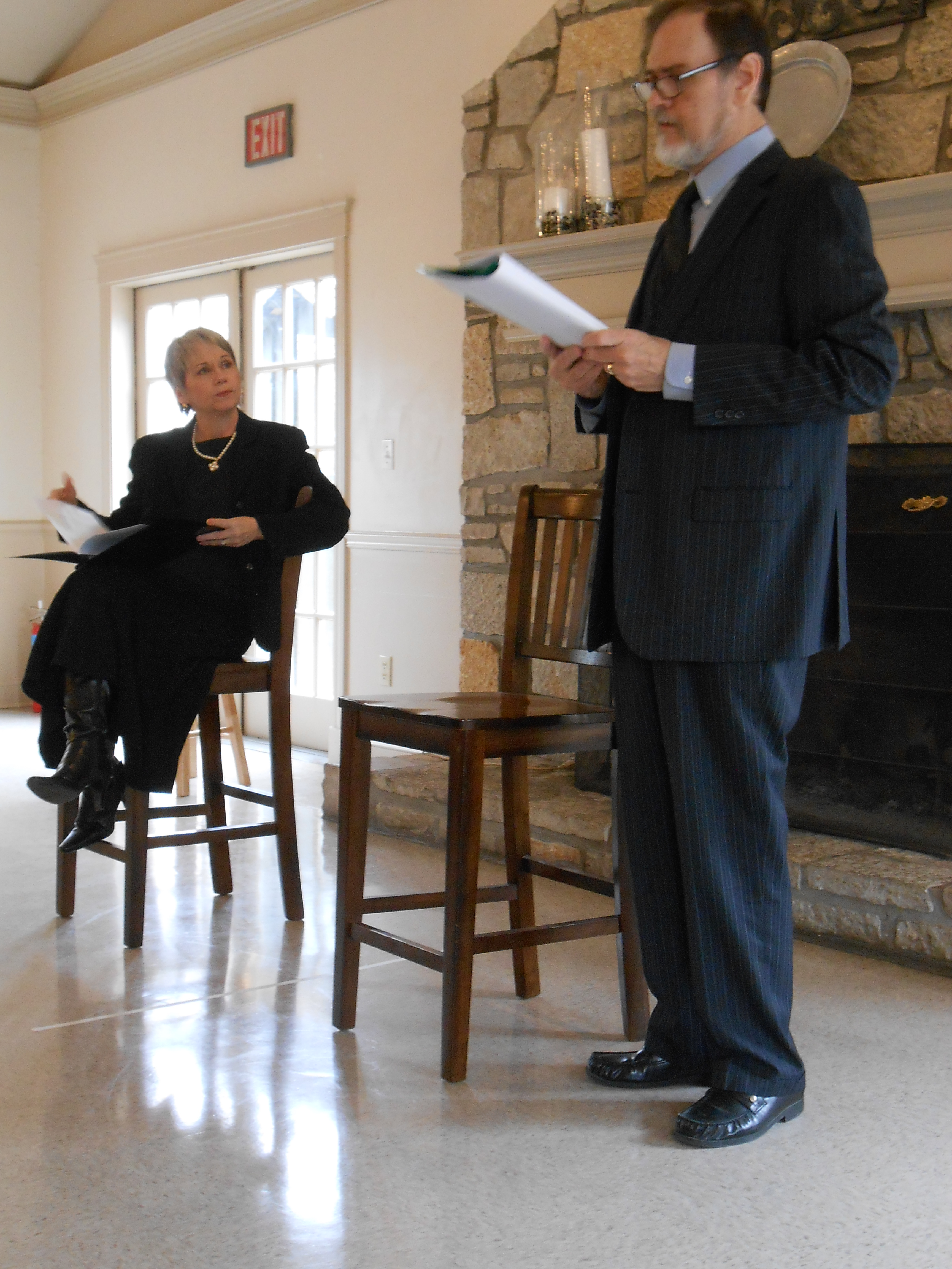 Peggy Billo and John Contini