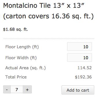 WooCommerce Measurement Price Calculator   Frontend calculator display