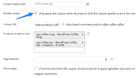 WooCommerce automatic coupon   URL Bundle Coupon