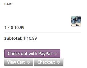 WooCommerce PayPal Express Mini Cart