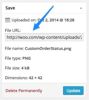 Get File URL WordPress