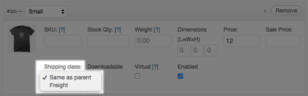 WooCommerce 1.5. product variation changes