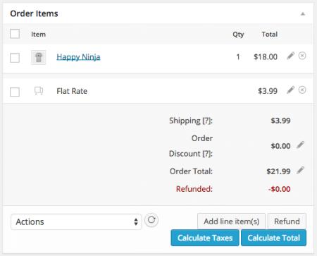 WooCommerce 2.2 Refunds