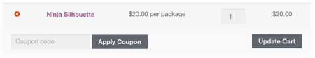 WooCommerce Price Display: Cart label Changed