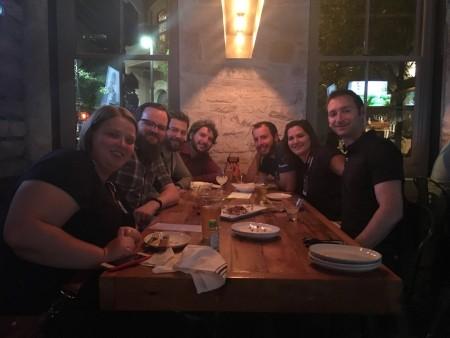 SkyVerge Team Dinner