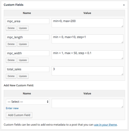 WooCommerce Measurement Price Calculator Custom Fields