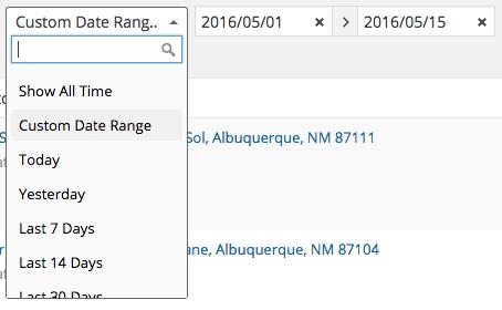 WooCommerce filter orders by date range