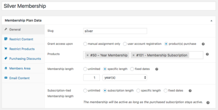 WooCommerce Memberships: multiple access products